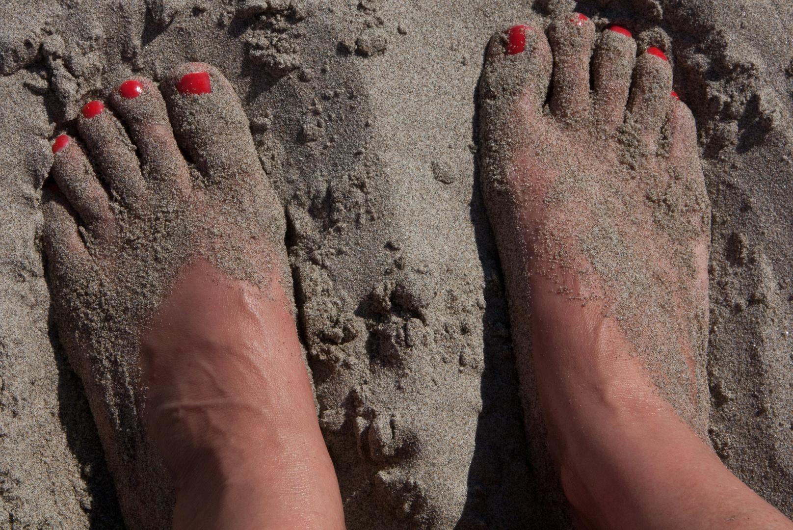 Erinnerung an Sommer, Sonne, Strand