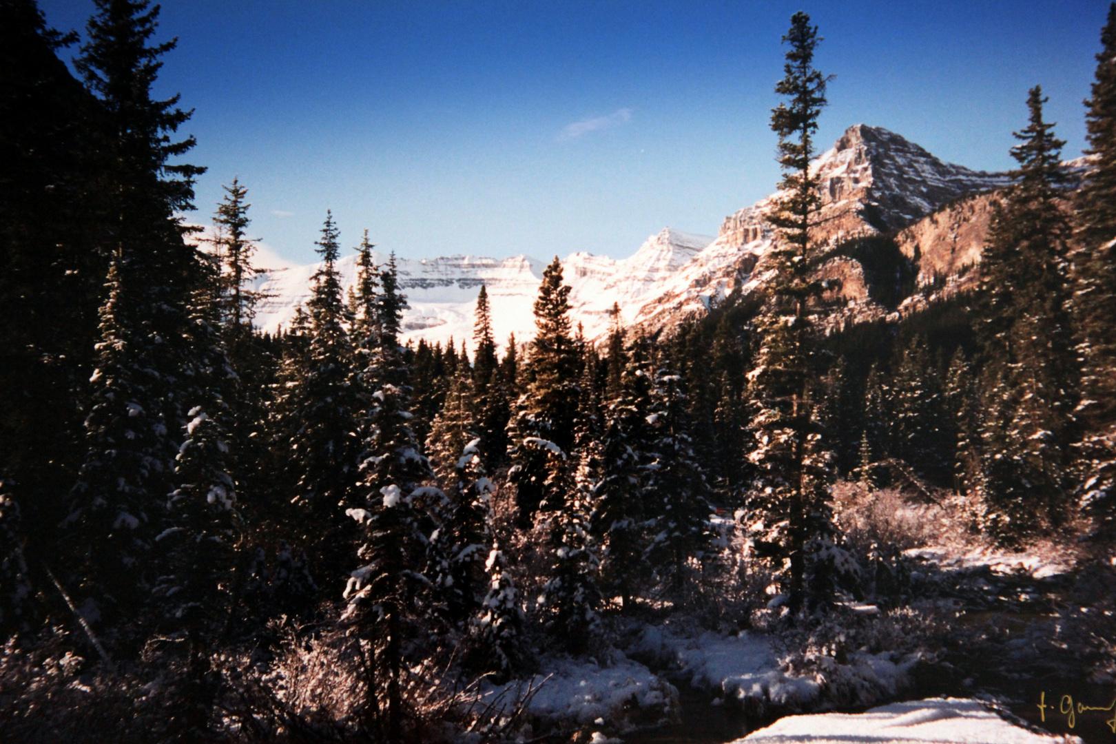 Erinnerungen Banff in Kanada (Jose)