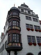 Erker vom Torgauer Rathaus