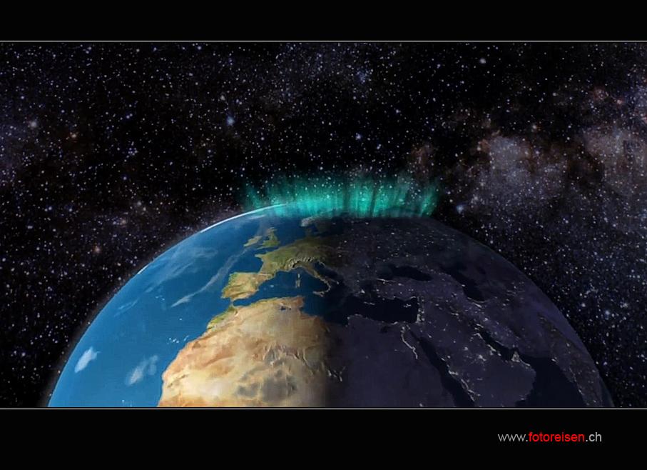 Erklärung zum Nordlicht