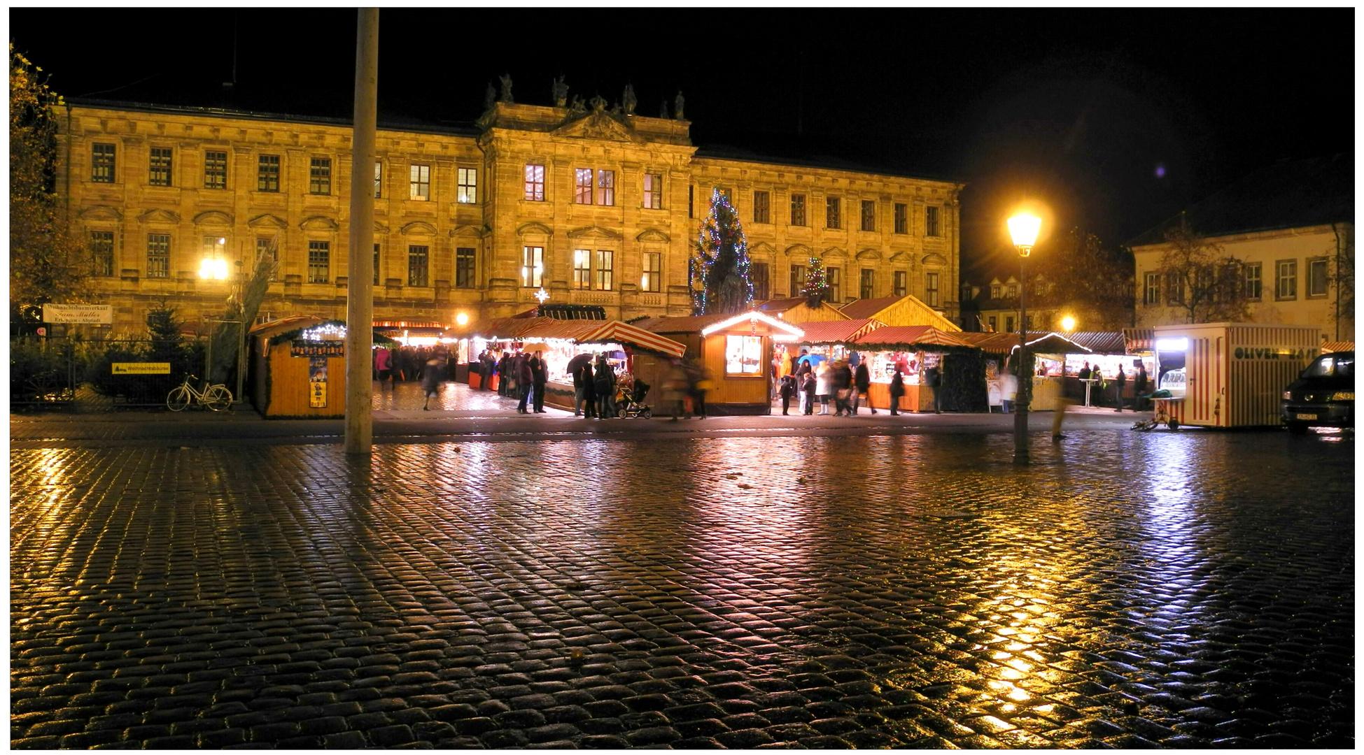 Erlangen 2011, mercado navideño (Weihnachtsmarkt)