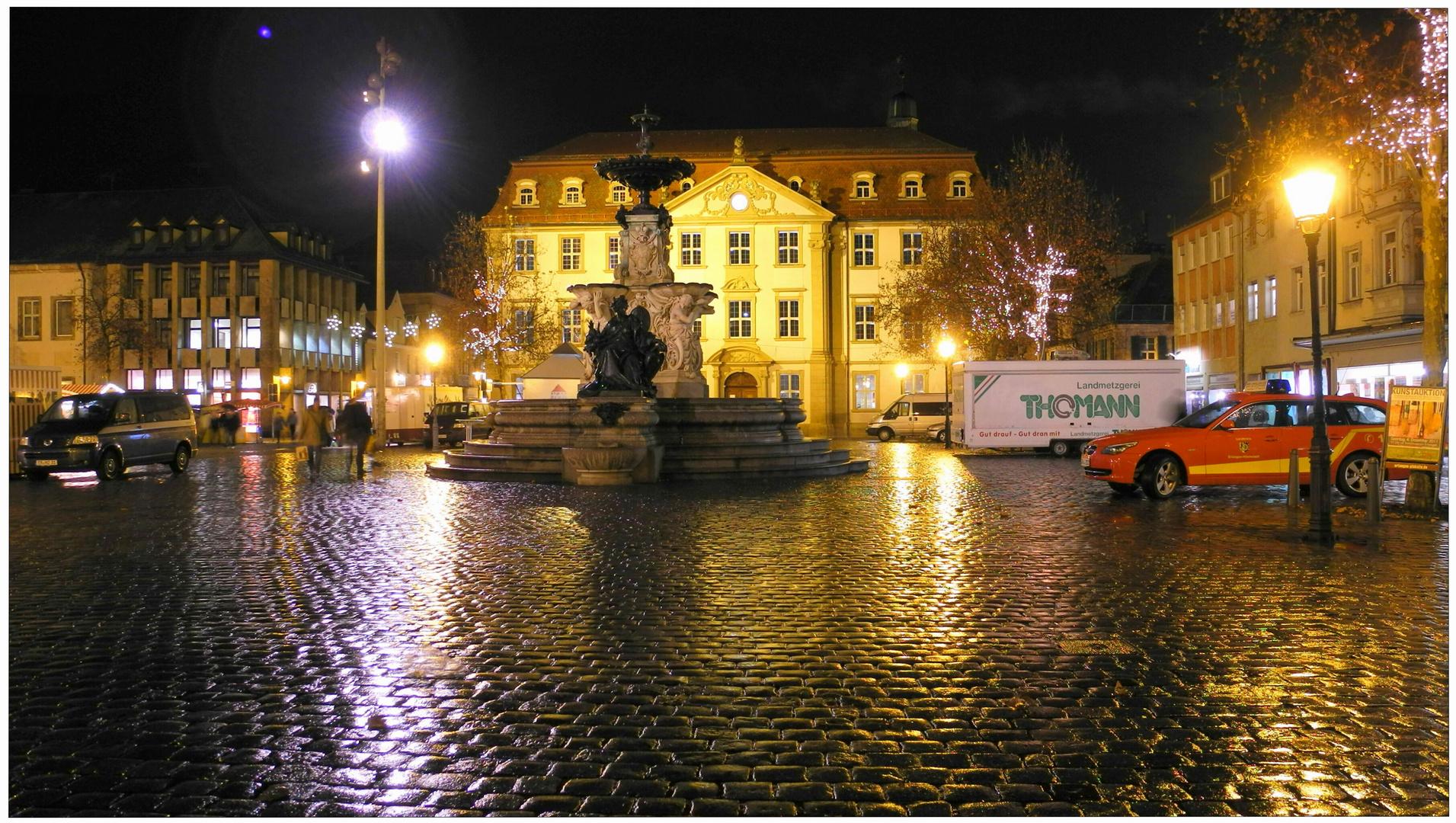 Erlangen 2011, plaza mayor (Marktplatz)