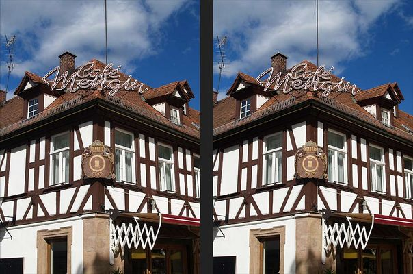 Erlangen, Café Mengin