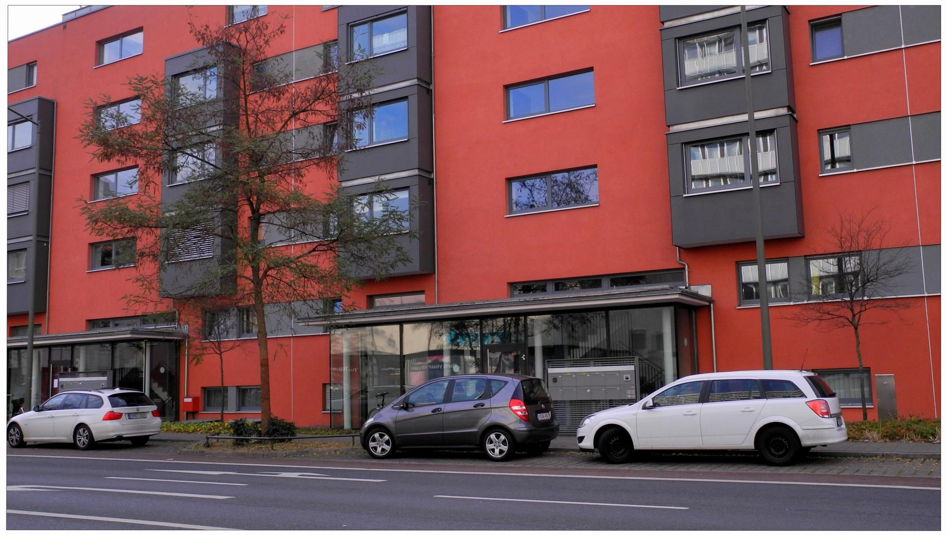 Erlangen, casas rojas