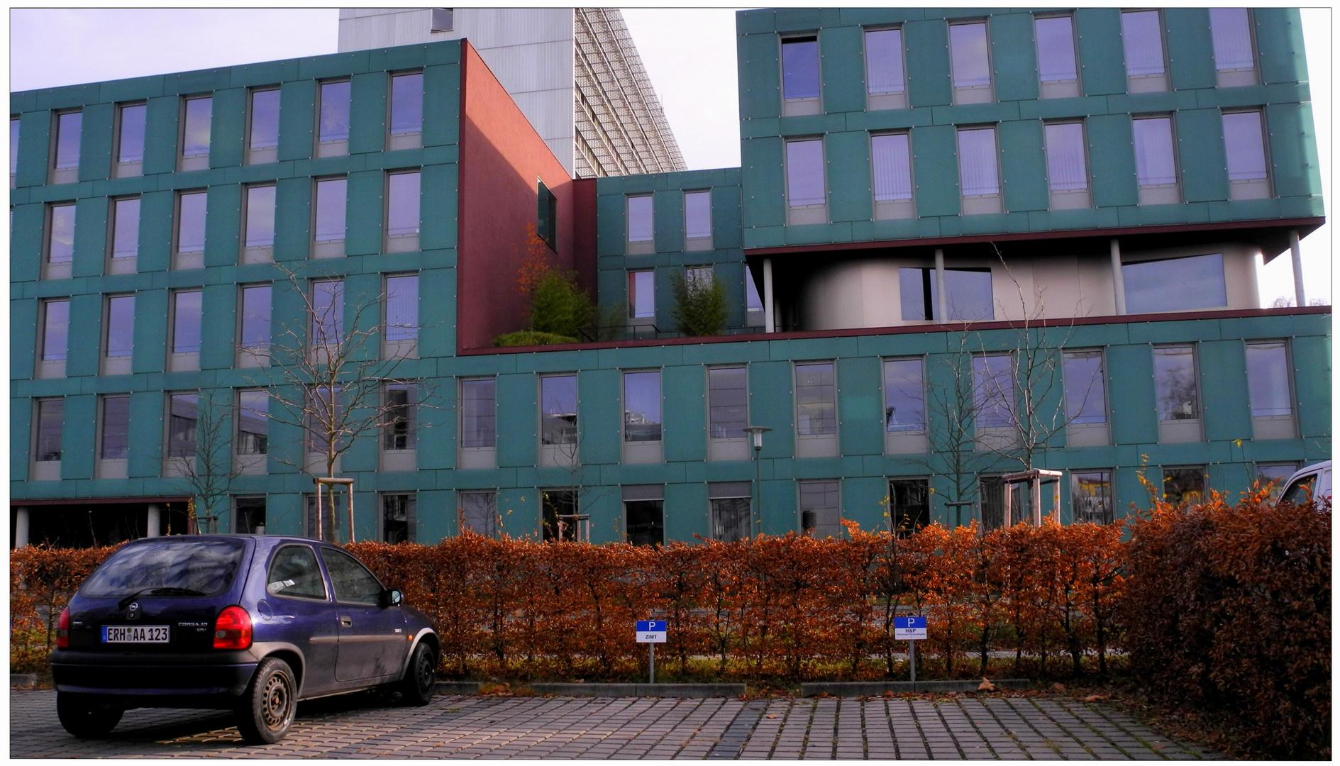 """Erlangen, edificios de la empresa """"Siemens"""""""