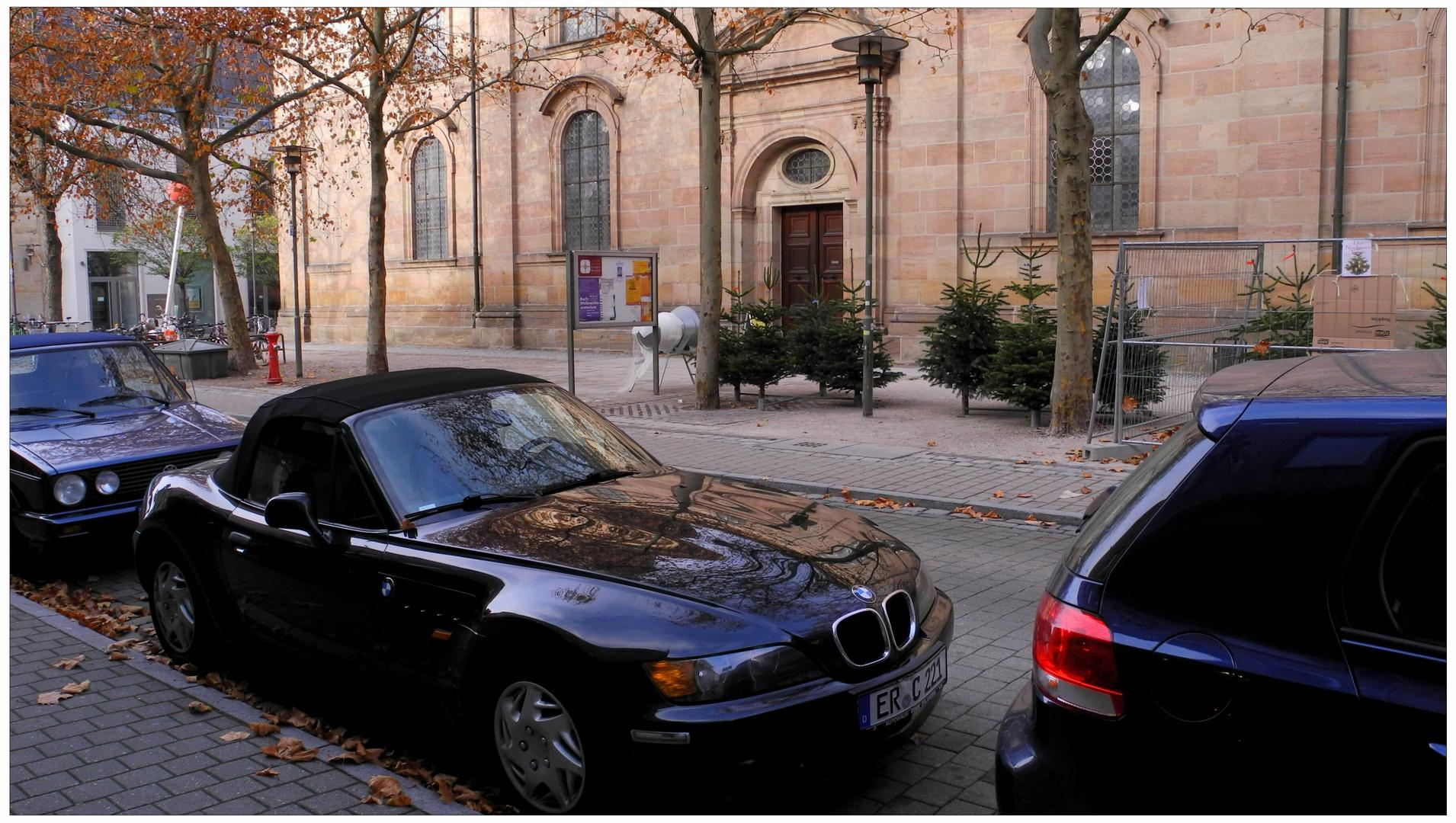 Erlangen, la venta de los árboles de Navidad