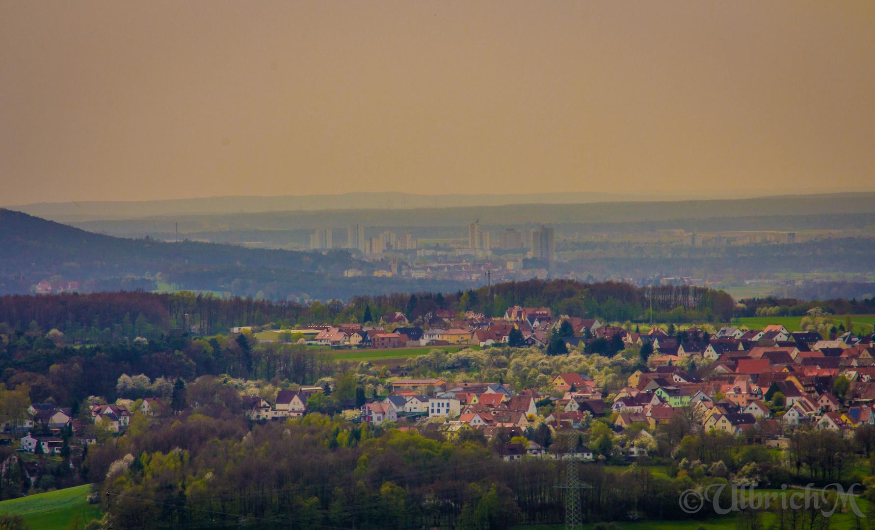 Erlangen (vom Walberla)