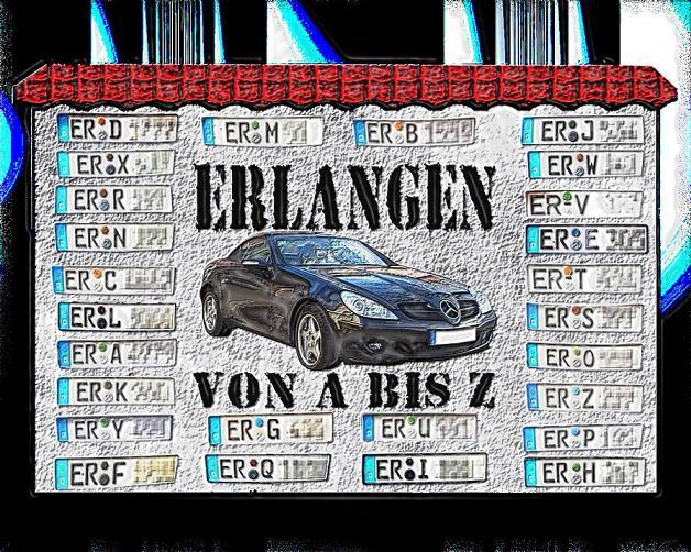 Erlangen von A bis Z