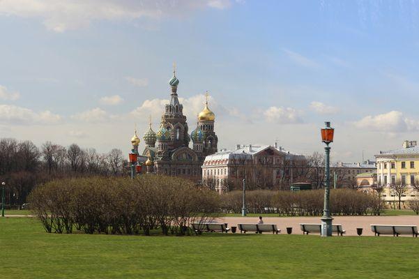 Erlöser bzw. Blutskirche St. Petersburg