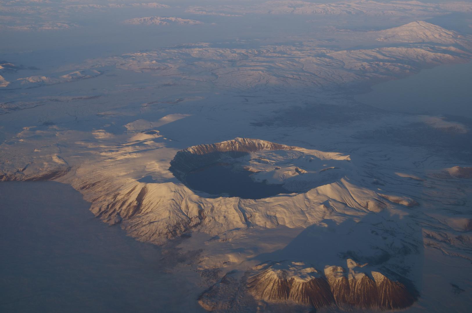 Erloschener Vulkan am Van See, Irak