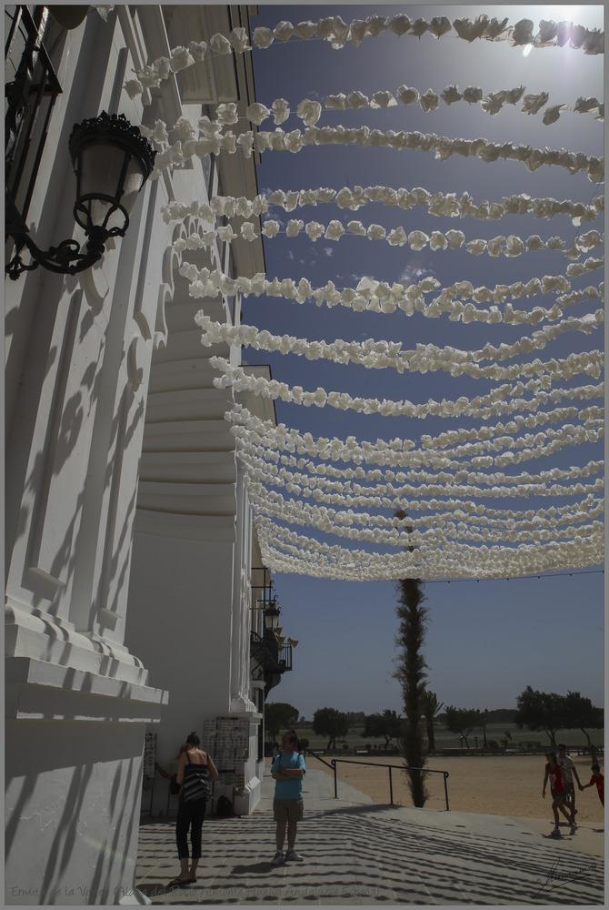Ermita de la Virgen (Aldea del Rocío Almonte Huelva Andalucía España)