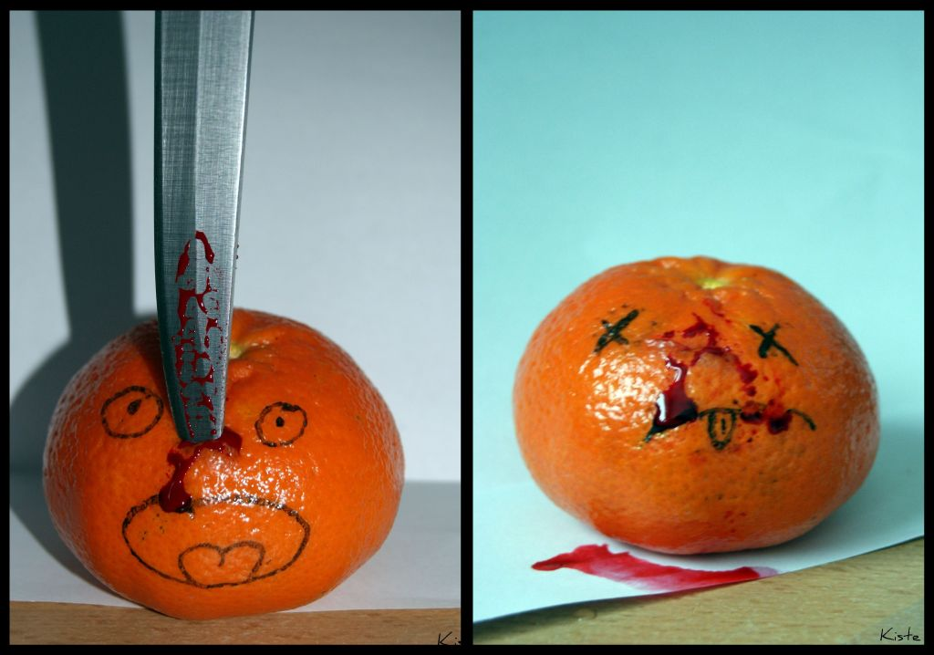 ermordete Orange