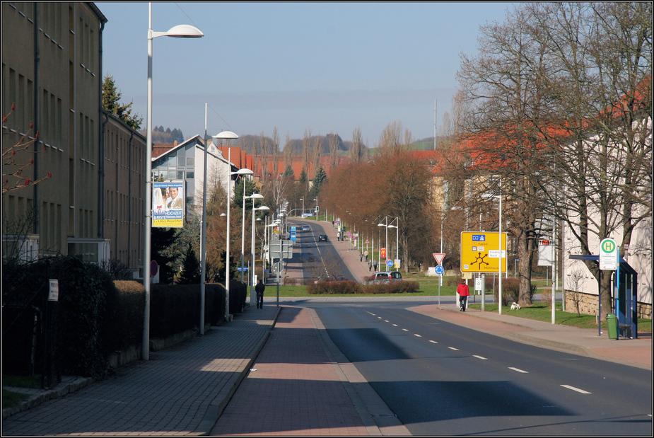 Ernst-Thälmann-Straße in Eisenach