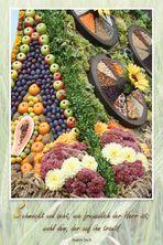 Erntedankfest....Psalm 34,9