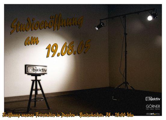 Eröffnung unseres Studios