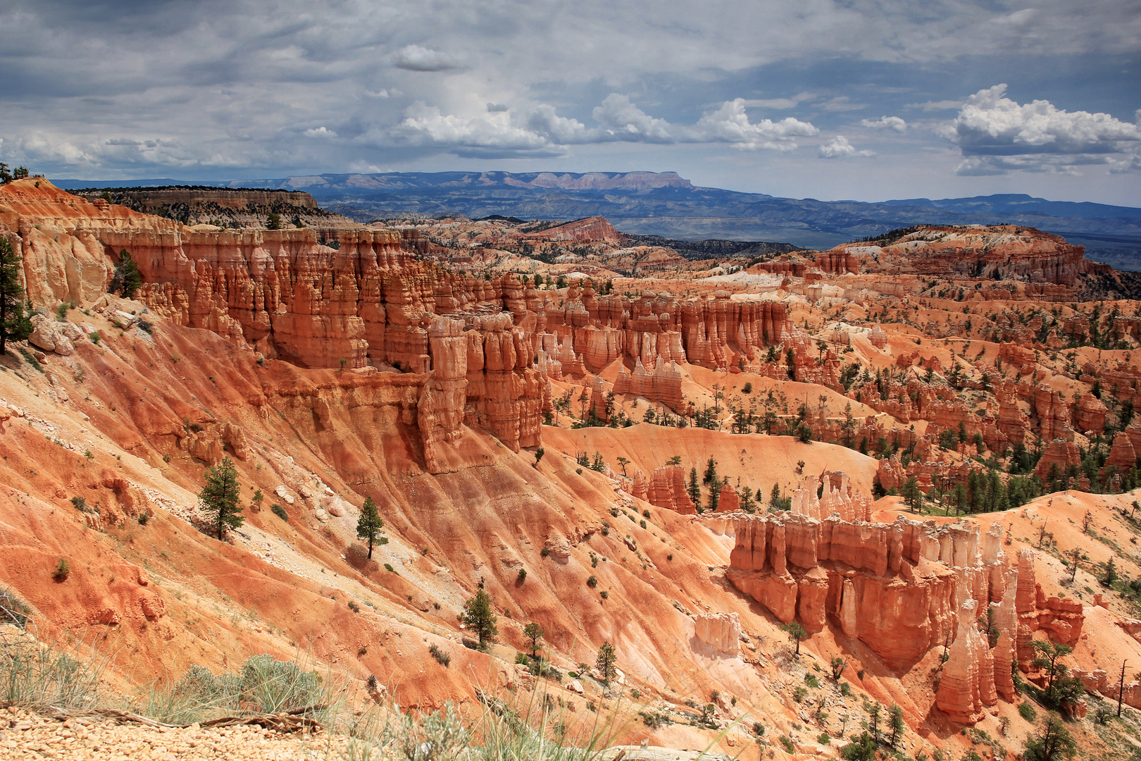 Erosionsformen des Bryce Canyon