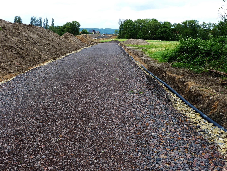 Ersatzstraßen für unterbrochene Gemeindestraßen beim Autobahnbau