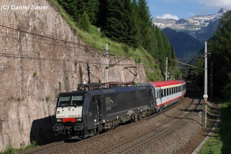 Ersatzverkehr am Brenner