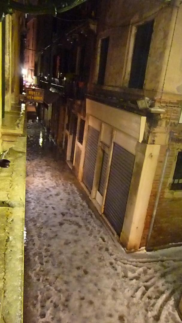 ....erst kam der Schnee...