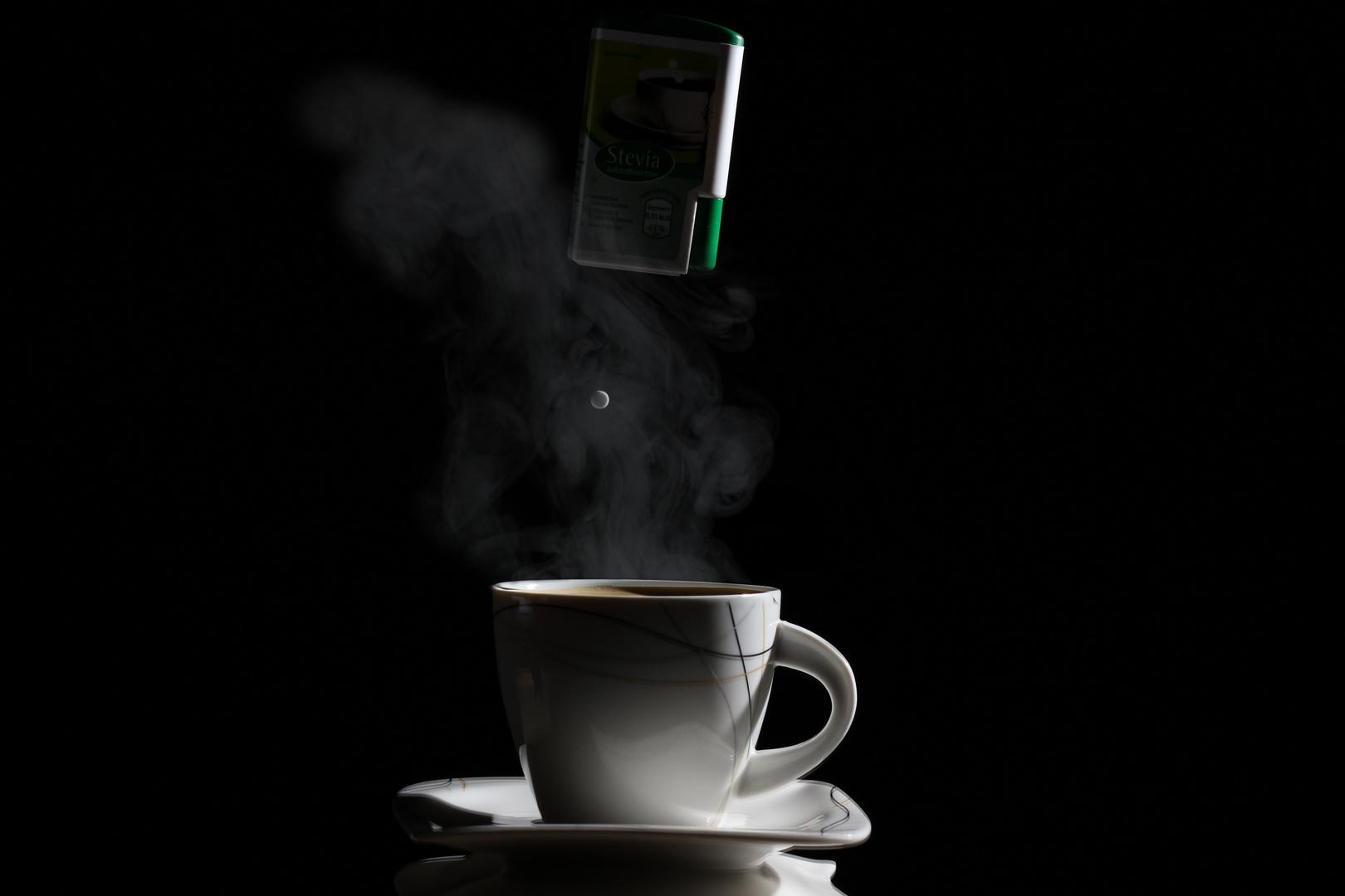 Erst mal ein Kaffee....