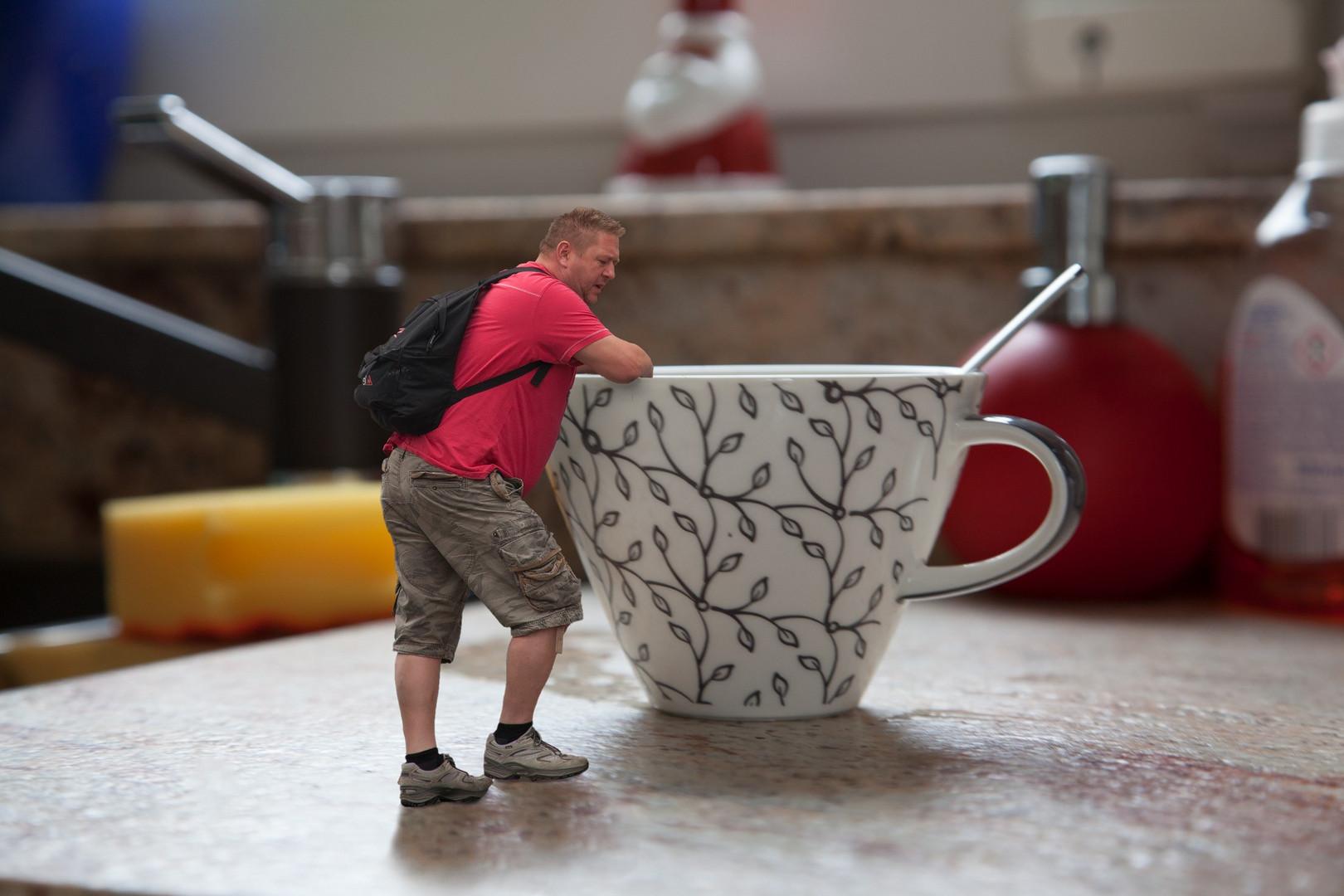 Erst mal eine Kaffeepause
