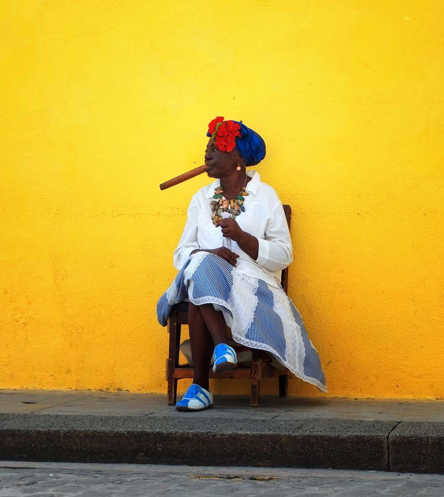 Erst mal in Ruhe eine Rauchen... von Martin Gebhardt