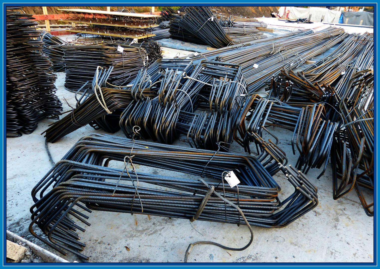 Erst Stahl macht den Beton stark