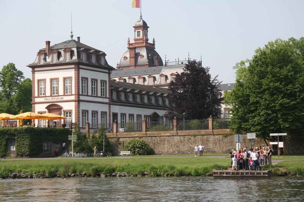 Erste Bootstour auf dem Main bei Hanau 2009