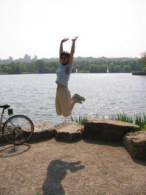 Erste Fahrradtour