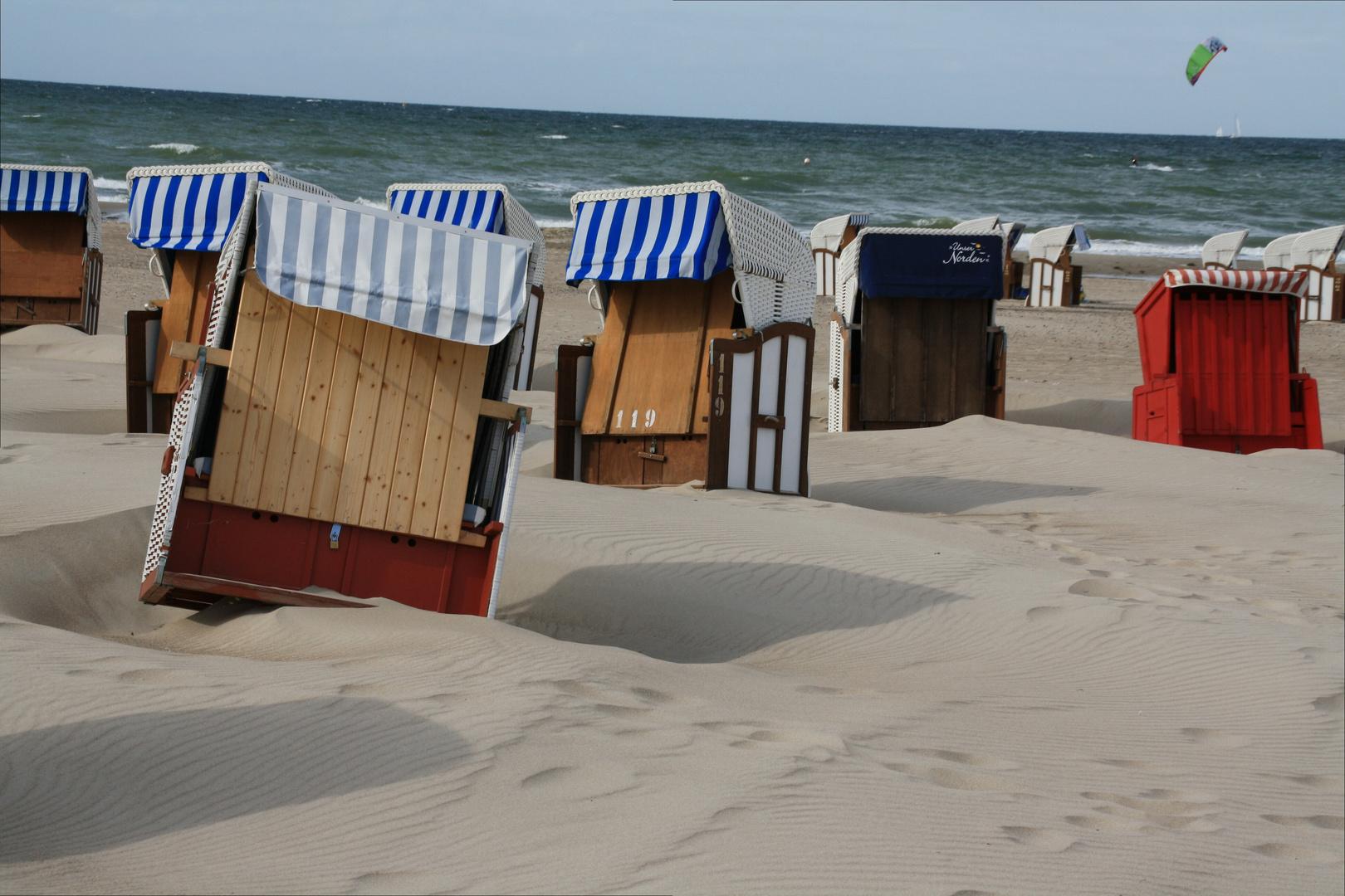 Erste Herbststürme an der Ostsee 4