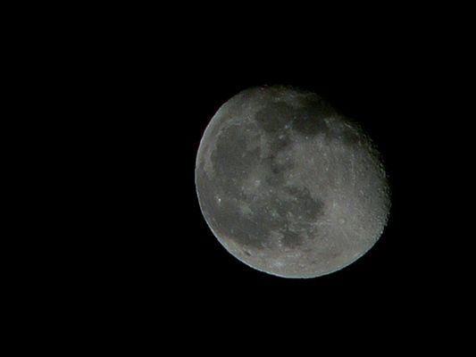 Erste Mondaufnahme 29.12.04