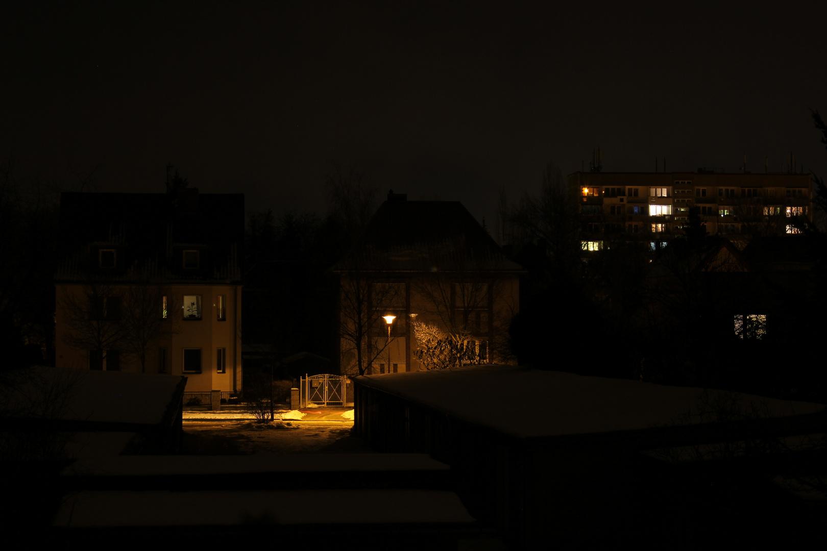 Erste Nachtaufnahme.....