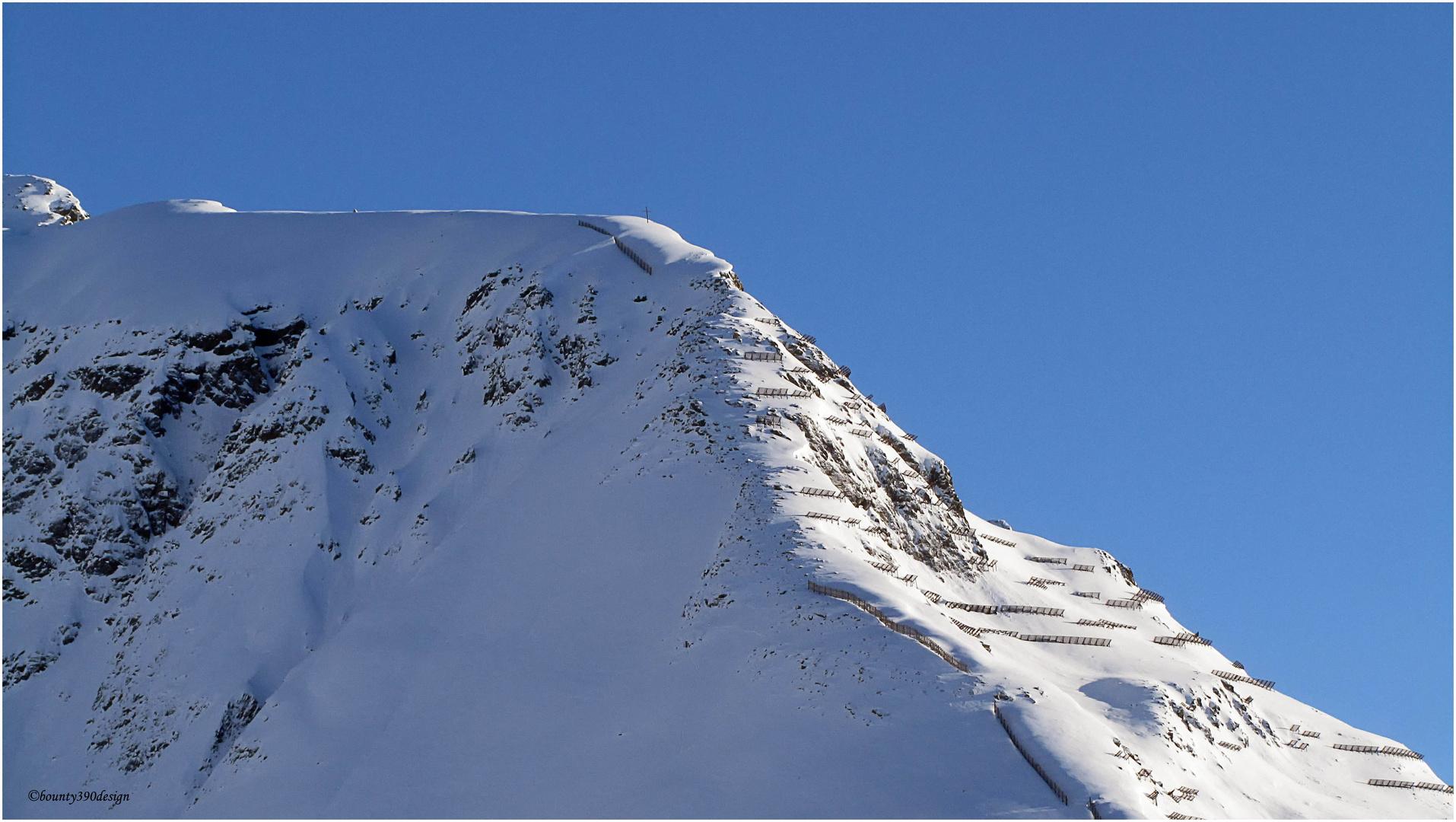 Erste Spuren im Schnee in Kappl III