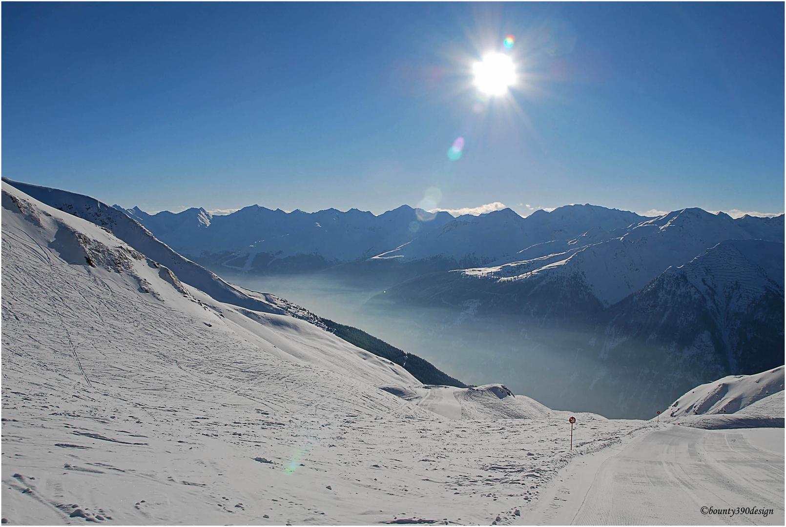 Erste Spuren im Schnee in Kappl IV