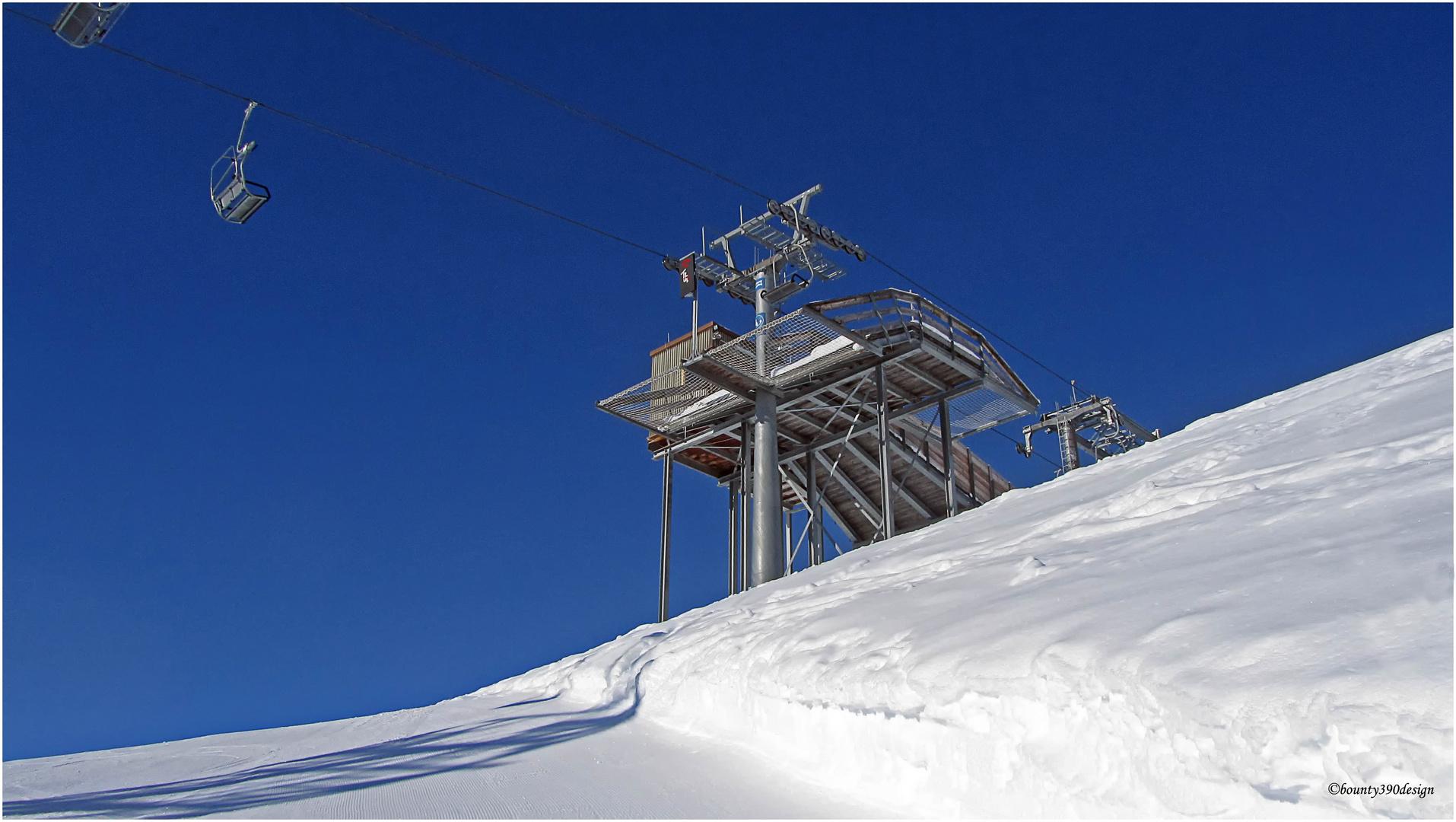 Erste Spuren im Schnee in Kappl VII