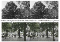 erste synchronisierte Testaufnahmen (3D)