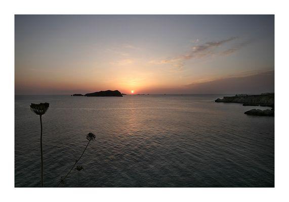 erste Untergang auf Ibiza