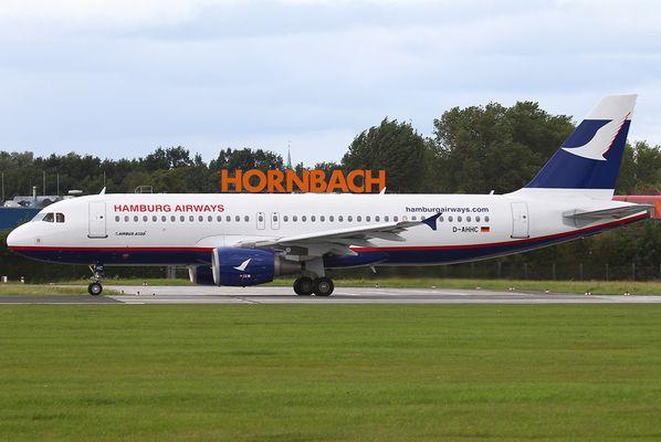 Erster A320 für Hamburg Airways