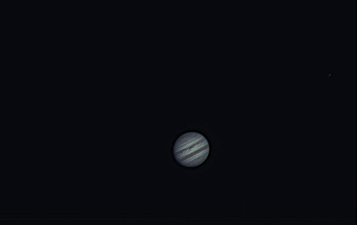 Erster Jupiter Test mit der QHY 5II, am 01.04.2014 um 21:43 Uhr