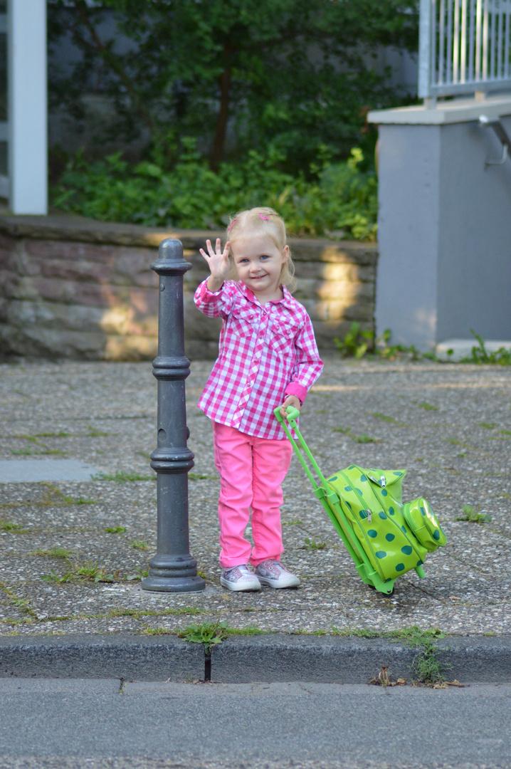 Erster Kindergartentag