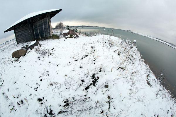 Erster Schnee in der Sielmann Naturlandschaft