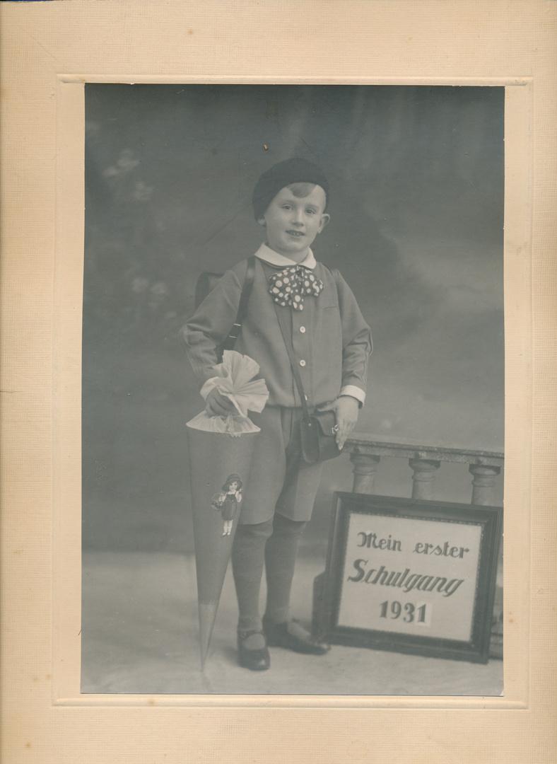 Erster Schultag 1931