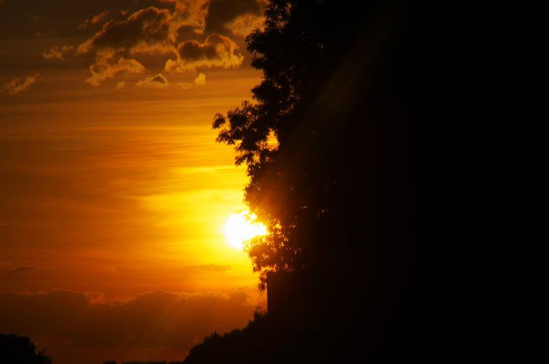 erster Test an der Sonne