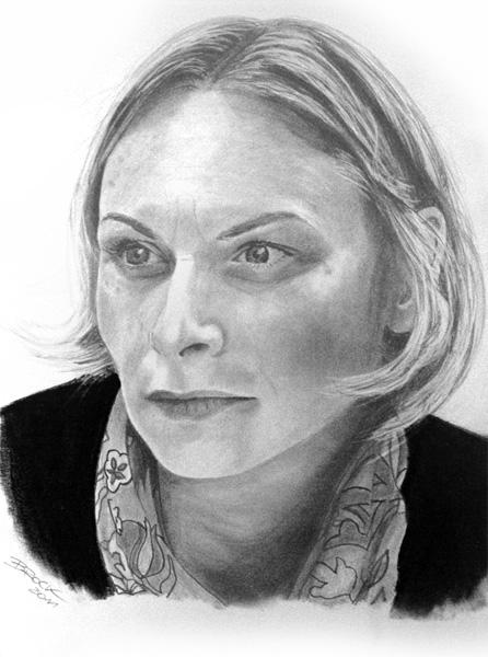 Erstes Bleistift Portrait