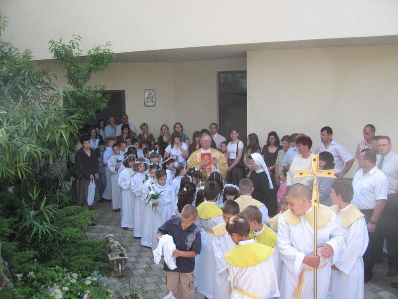 Erstkommunion in Kroatien (auf dem Land)