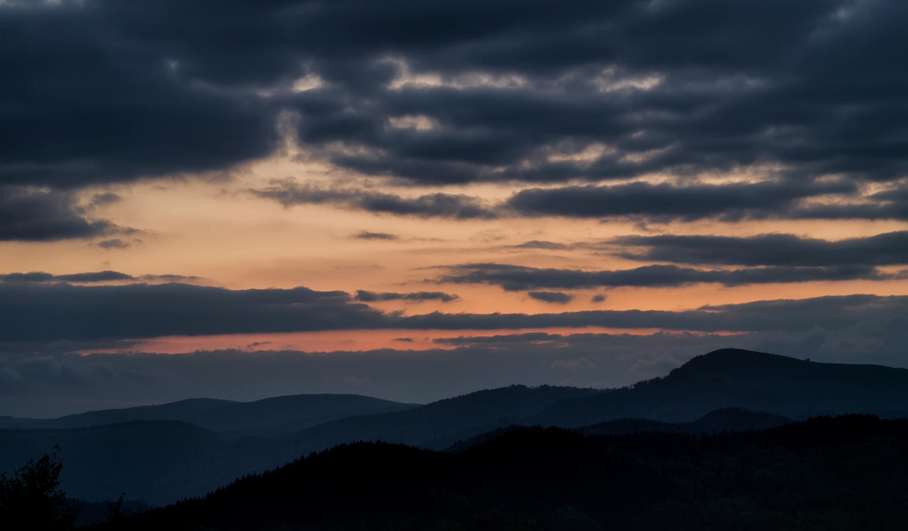 Erwachen am Hochblauen Südschwarzwald