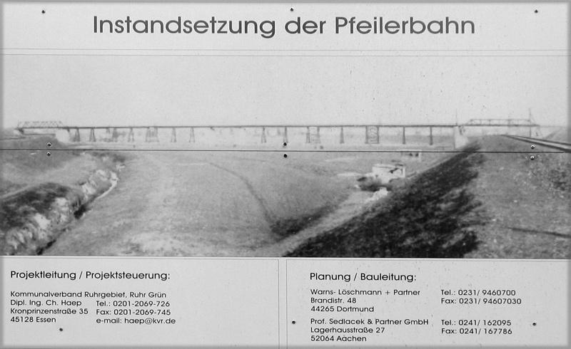 Erzbahnbrücke 9 - Pfeilerbrücke