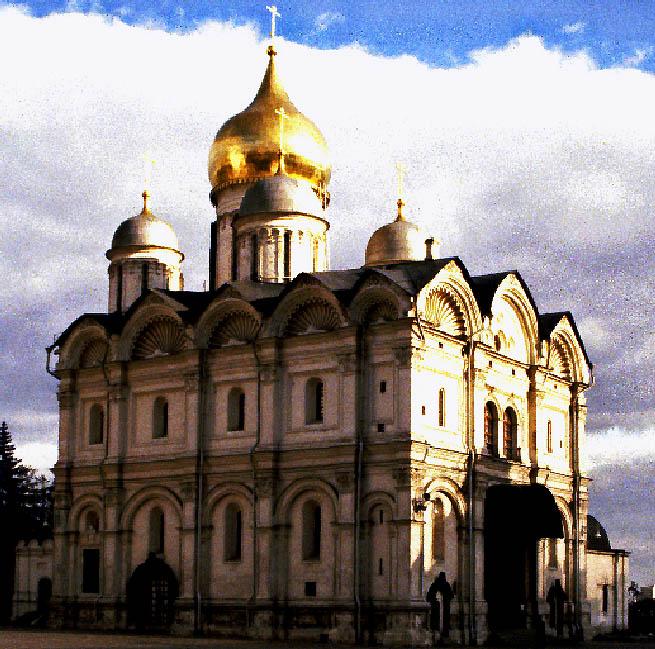 Erzengelkathedrale auf dem Kreml
