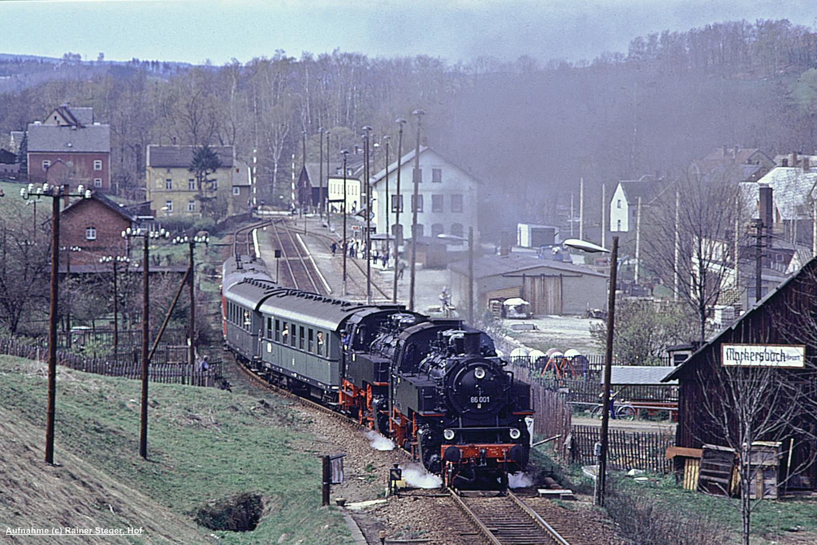 Erzgebirgische Aussichtsbahn anno 1990