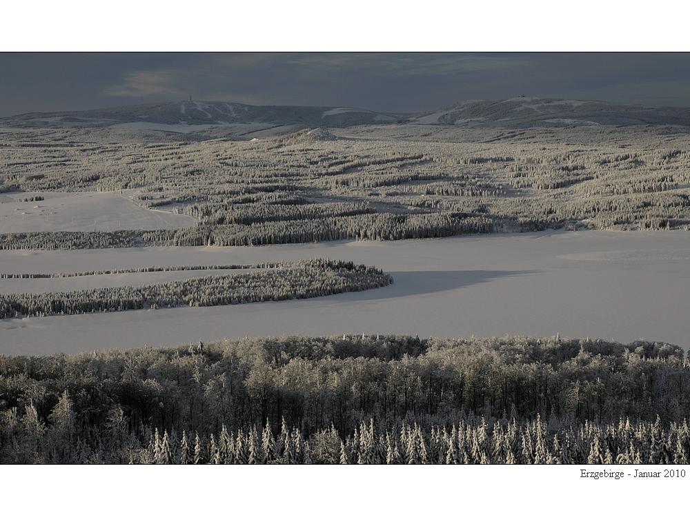 Erzgebirgs-Winterblick